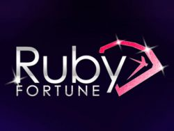 205% casino match bonus at Ruby Fortune Casino