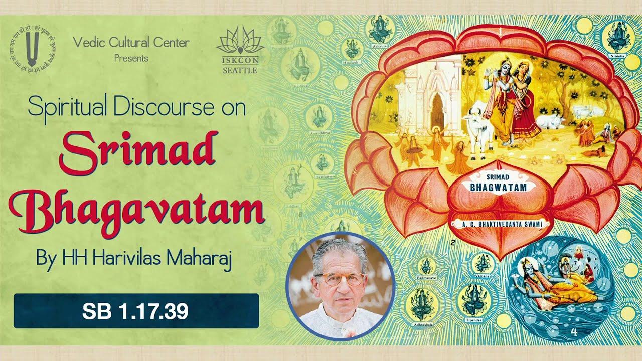 Srimad Bhagvatam Class by HH Harivilas Maharaj After Mangal Arati 2020 12 04