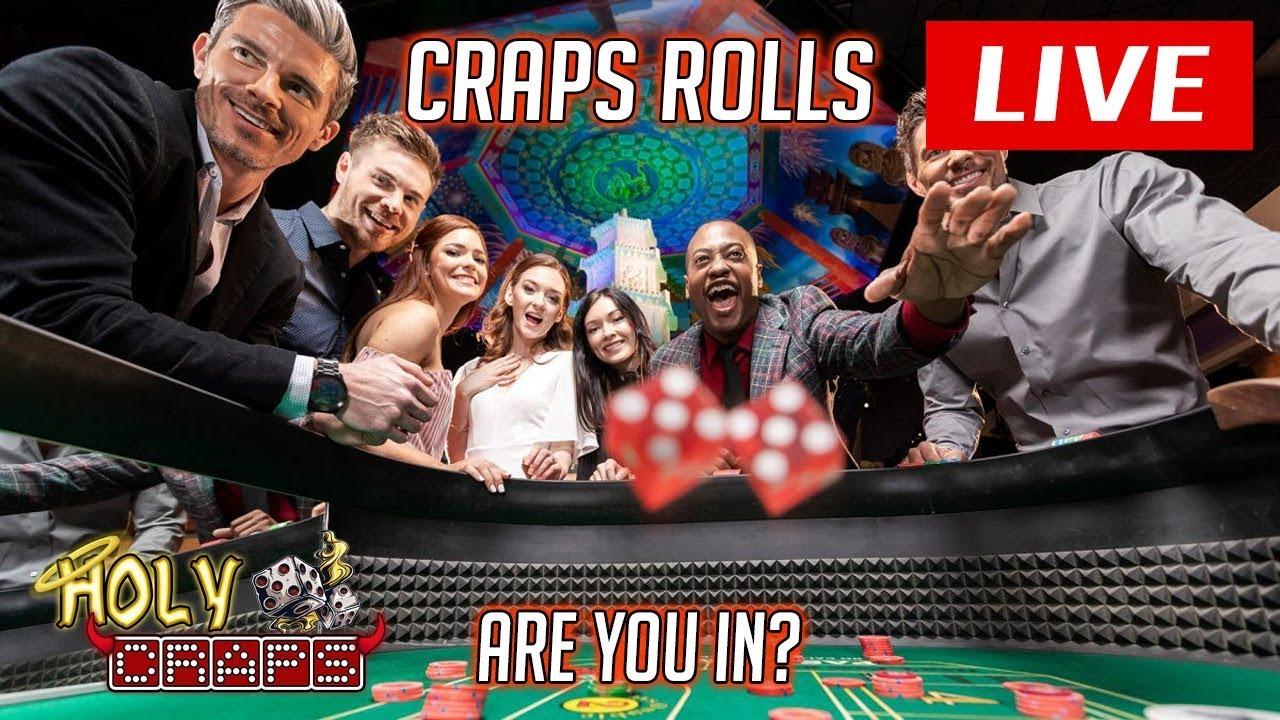 Craps Rolls LIVE   You Play Too   Casino Craps Live ep 3 Rando Rolls