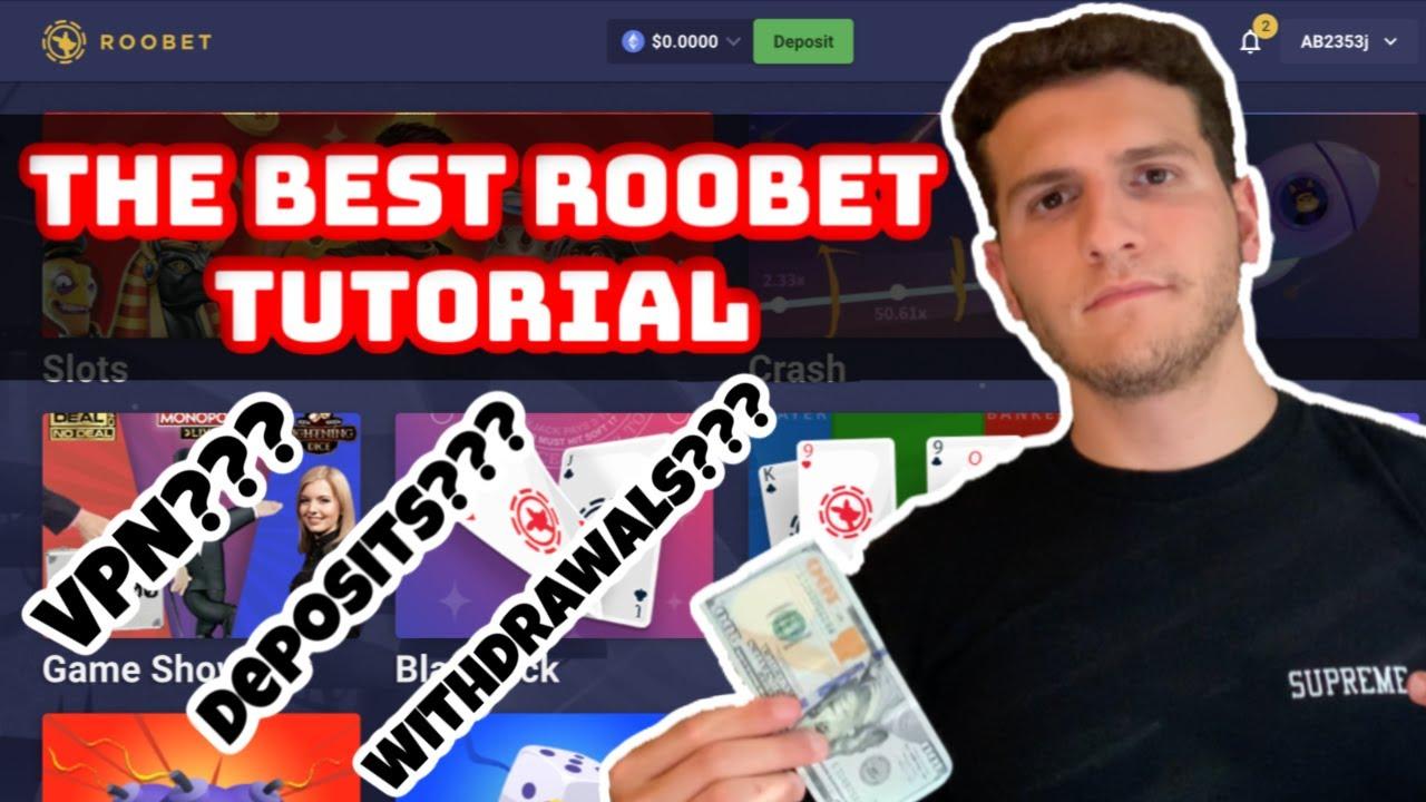 The BEST Roobet Tutorial - VPNs, Deposits, Withdrawals